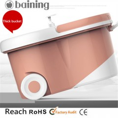 Big wheels walk-able hand press 360 magic mop