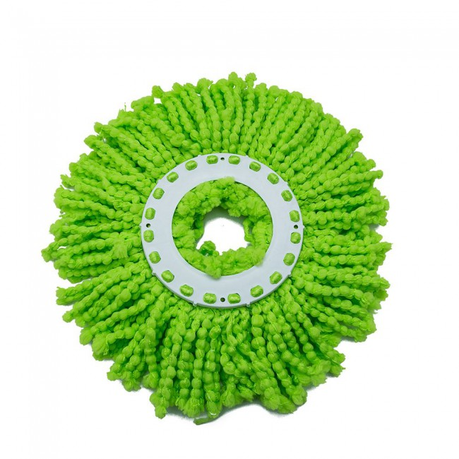Floor Cleaning Washable Absorption Replacement Microfiber Round Mop Heads