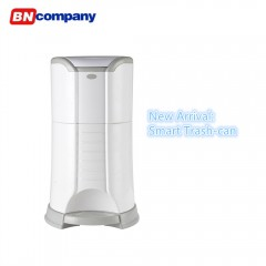 Latest-Model ABS Plastic Material Foot Pedal Open Trashcan
